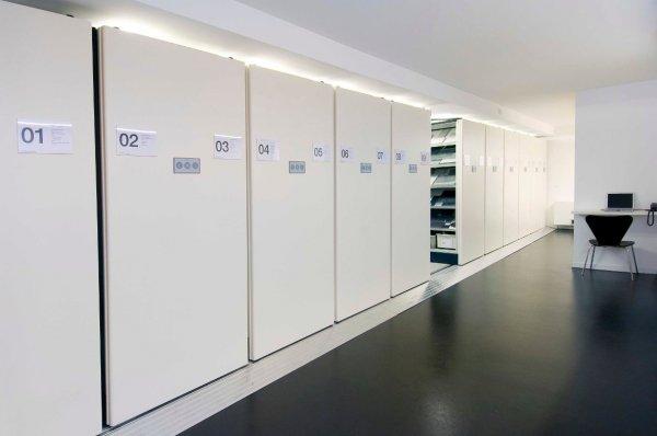 Archivio compattabile automatico