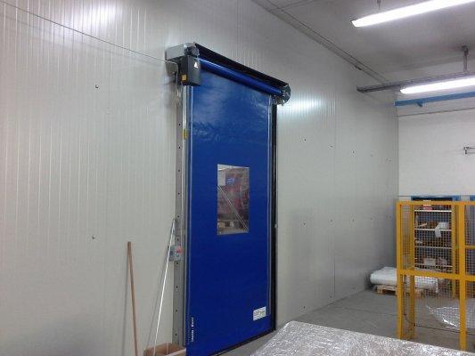 Divisori in Pannello con porta Rapida
