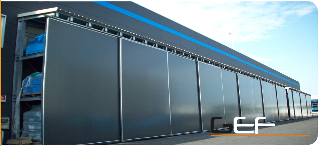 Chiusure in pvc per cantilever for Porte per esterno in pvc